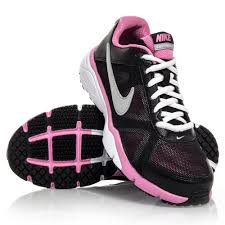 nike shoes for girls pink and black. nike dual fusion tr 3 gs - junior girls running shoes black/pink/ for pink and black