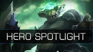 dota 2 hero spotlight underlord pit lord youtube