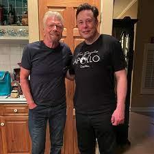 Elon Musk besuchte Richard Branson barfüßig um 3 Uhr morgens
