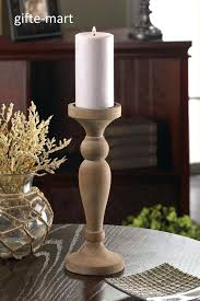unfinished wooden candle holders best images on whole wooden candle holders