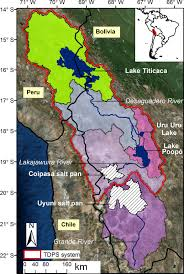 Union Reservoir Depth Chart Hess Modelling Lake Titicacas Daily And Monthly Evaporation