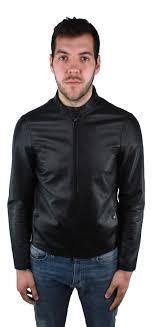 emporio armani 3z1bm5 1lbaz 999 leather jacket