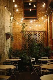 use bistro lights outside