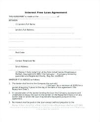 5 Sample Loan Agreement Letter Between Friends With Personal
