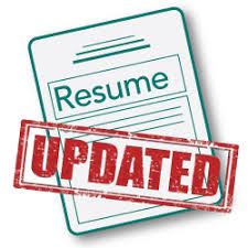Update Your Resumes 7 Reasons Your Resume Should Never Be Outdated The Overture Group