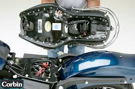 corbin motorcycle seats & accessories hd dyna wide glide 800 538 Fuse Box Diagram our electric heat system is built into the saddle and wires into your fuse box with included adapters saddle is installed with a tongue in