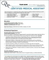 Medical Assistant Resumes And Cover Letters Stunning Sample Resume For Medical Assistant Elegant Professional Resume