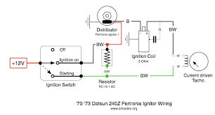 pertronix ignitor wiring diagram pertronix image tachometer wiring pertronix ignition tachometer automotive on pertronix ignitor wiring diagram