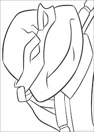 Teenage Mutant Ninja Coloring Pages Free Ninja Coloring Pages
