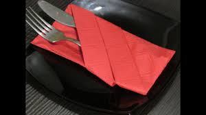 Как сложить <b>салфетки</b>.How to fold napkins. - YouTube