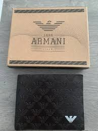 Portefeuille Armani - Vinted