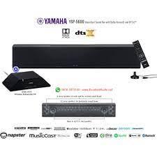 Yamaha YSP5600 YSP 5600 Premium Soundbar with wireless subwoofer kit