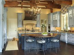blue country kitchens. Blue Country Kitchens Picturesque Kitchen French Furnitu On Cafe Style Tables For Best Bis