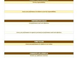 Employee Performance Template Employee Performance Template Employee Performance Review Templates