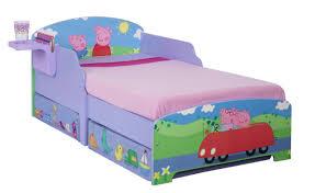 Peppa Pig Bedroom Furniture Peppa Pig Toddler Bed Storage Furniture World