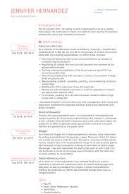 Recruiter Resume Examples Beauteous Recruiter Resume Samples VisualCV Resume Samples Database Resume