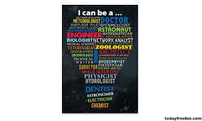 What Are Stem Careers Free Stem Careers Poster Free Stuff Freebies Free
