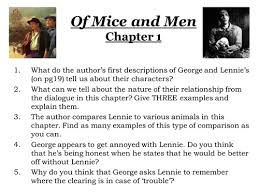 of mice and men collection tes of mice and men character studies