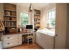 laundry room office. i wouldnu0027t mind doing laundry in this room and office great light a