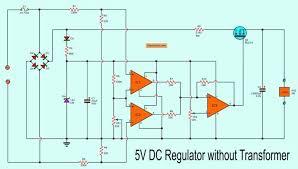 Transformer Chart 5 Volts Dc Regulator Without Transformer Using Mosfet Led