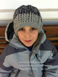 Bulky Yarn Crochet Hat Patterns Impressive Crochet Hat Pattern For Boys In Bulky Yarn Funky Chunky