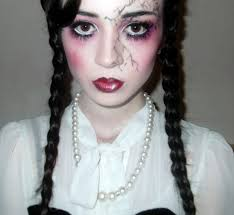 claire huskie creepy porcelain doll make up