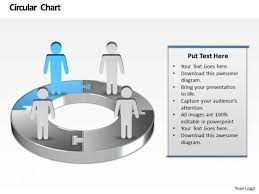 Powerpoint Pie Chart Animation Ppt Animated Men Standing On Colorful Pie Chart Presentation