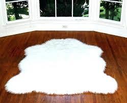 guaranteed fake sheepskin rug black faux ikea fur