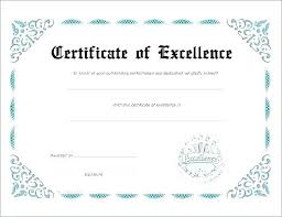 Certificate Templates Blank Sample Free Of Recognition