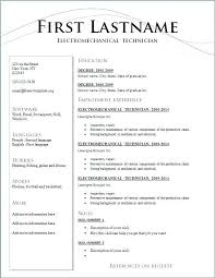 Resume Layout Template Countryinnsonoraus Unique Resume Lay Out