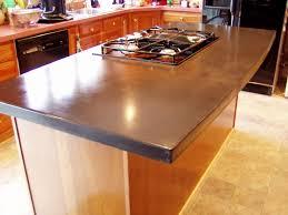 image of concrete countertop kitchen