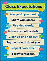 English Chart For Class 10 Buy Tape It Up Class Expectations Teachers Friend Charts