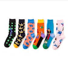 2019 Fashion Men Funny Cotton Socks <b>Street Style</b> Men <b>Crew</b> Long ...