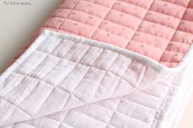 Sewing a Baby Blanket with Cotton Fabric, Wool Batting, & Double ... & If you have ever sewn with Art Gallery fabrics, you may have noticed it has  a smoother, kind of silky type texture. It's not like the courser weave in  a ... Adamdwight.com