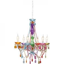 pendant lamp starlight rainbow 6 branched