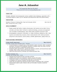 Gallery of awesome collection of sample lpn resume objective in .