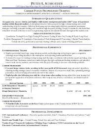 Resume Template Stocker Resume Sample Free Career Resume Template