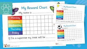 Superstar Weekly Reward Chart Teachers Pet Reward Chart Pack