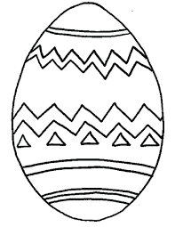 Coloring Page Egg Coloring Pages Decorative Painted Page Easter