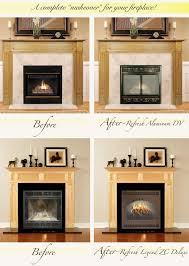 update your direct vent recirculating or other types of factory built fireplace with a custom built refresh door or screen