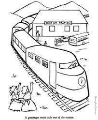100% free vehicle coloring pages. Train Coloring Pages