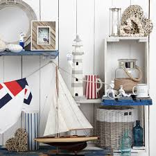 Vintage Nautical Prints | Nautical Anchor Decor | Nautical Themed Bathroom