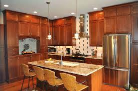 dark cherry cabinets kitchen paint colors with light cabinets black quartz countertops