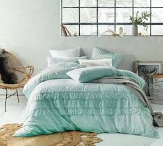 sku acca1292 duckegg boho tassel linen cotton quilt cover set is also sometimes listed under the following manufacturer numbers 70592 70608 70615