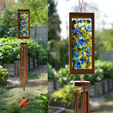 kaleidoscope wind chime by coast chimes