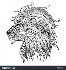 Coloriage Mandala Lion Beautiful Coloring Page Mandala Page