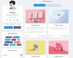 User Profile Design In Bootstrap Profile Material Design For Bootstrap