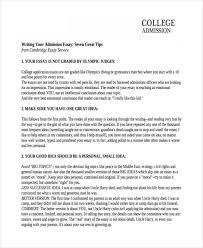 of college essays college admission short essay