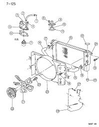 1994 dodge ram 1500 radiator related parts diagram 00000efv