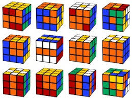 Rubik's Cube Patterns 3×3